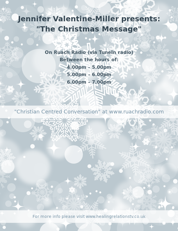 Jennifer Valentine-Miller presents: The Christmas Message